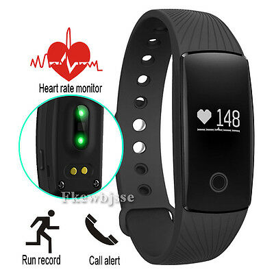 ID107 Smart Bracelet Watch Heart Rate Monitor Bluetooth Wristband For Android