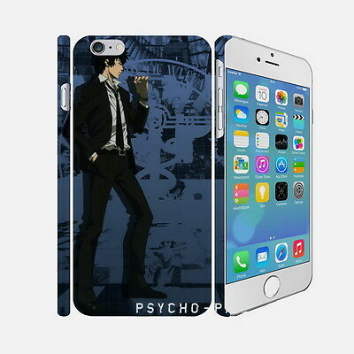 F035 PSYCHO PASS - Apple iPhone 4 5 6 Hardshell Back Cover Case