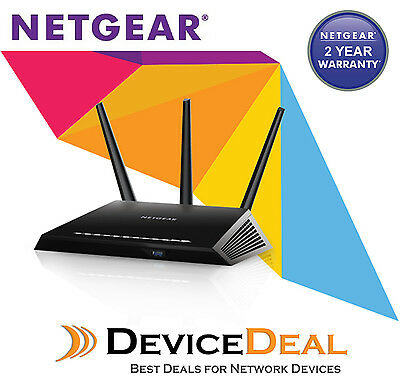 Netgear Nighthawk D7000 AC1900 Dual-Band  WiFi VDSL/ADSL Modem Router - OZ Stock