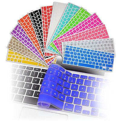 Protège Clavier Silicone Protection Pour MacBook Air Pro Retina 11,6 13 15 UK-EU