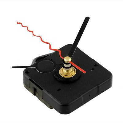 High Quality Quartz Clock Movement Mechanism Replacement With Red Black Hands