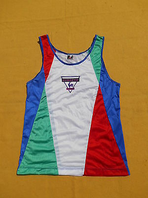 LE COQ SPORTIF Maillot Jersey Tank Top Dynactif True Vintage 1991 Running Sprint