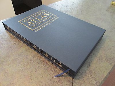 The Times Comprehensive Atlas of the World 11th Ed w/Sleeve Great Maps! LARGE
