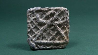 ANCIENT WEIGHT WITH HERECULES CLUB & TANIT SIGN IMAGE PHOENICIAN 6th CENTURY BC