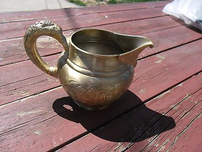 Antique Barbour Bros Quadruple plated #998 Creamer