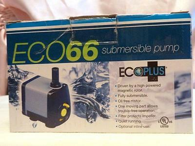 ECO66 Submersible Pump Powerful Quiet Reliable New
