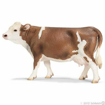 Schleich Simmental Cow #13641 - Retired - New With Tag