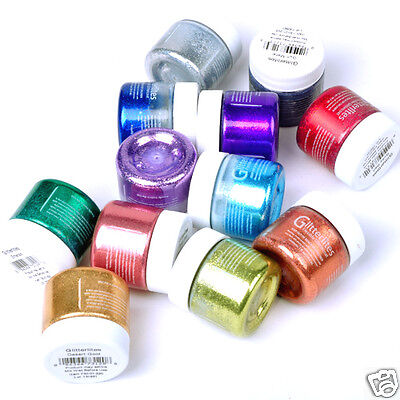 SHOE PAINT GLITTER ANGELUS   Perfect for Crafts ,Shoes, Boots !!!!!!