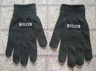China Police Anti-Cutting Gloves,5 Level,Dyneema Fiber,Stainless Steel Wire (A)