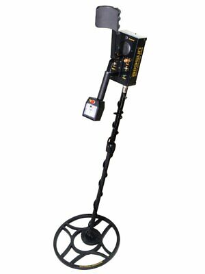New Handheld Metal Detector Ground Searcher Treasure Black Gold Silver Hunter