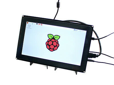 Raspberry Pi 3 10'' touch screen display 10.1inch HDMI LCD H (with case)