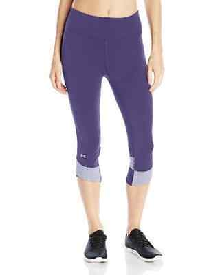 Under Armour Women's Fly By Comp Capri Twilight Purple Small (CHRISTMAS DEAL)