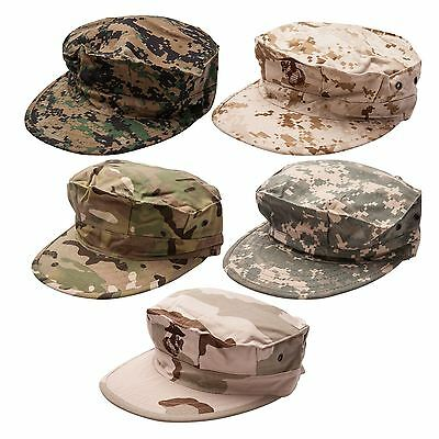 Unisex Camouflage Army Military Cap Hunting Fishing Camo Cargo Outdoor Hat