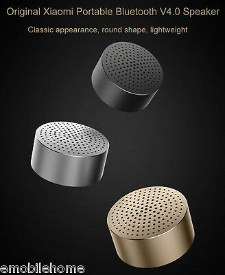 Original Xiaomi Mi Bluetooth 4.0 Speakers Wireless Support Hands-free Phone Call