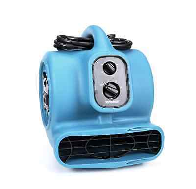 NEW Air Mover Fan Dryer Floor Blower 800 CFM High Industrial Commercial Portable