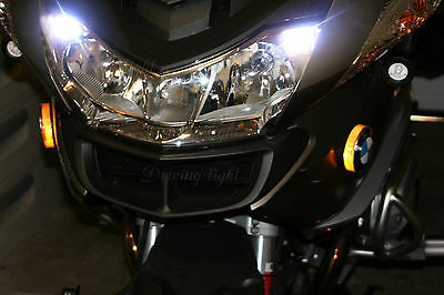2x T10 5SMD LED SIDELIGHTS WHITE XENON BULBS CANBUS FREE ERROR FOR BMW R1200 RT