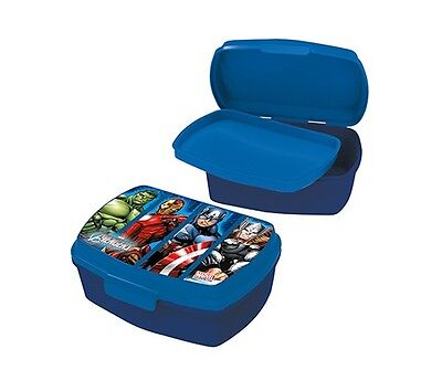 Marvel Avengers Boys Sandwich Lunch Snack Box Ideal For School