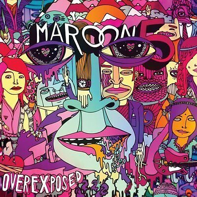 Maroon 5 Cd - Overexposed [Explicit][Deluxe Edition](2012) - New Unopened - Pop