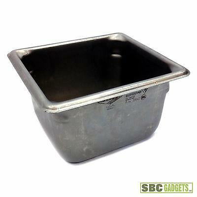 (Lot of 7) Vollrath Super Pan V® 1/6 Size Stainless Steam Table Pan (P/N: 30642)
