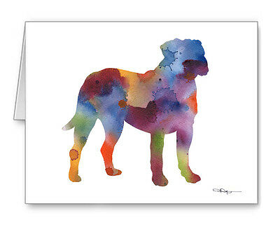 MASTIFF Note Cards With Envelopes