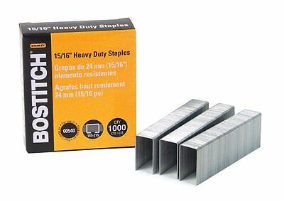 "Stanley-Bostitch - Heavy-Duty 15/16"" Staples"