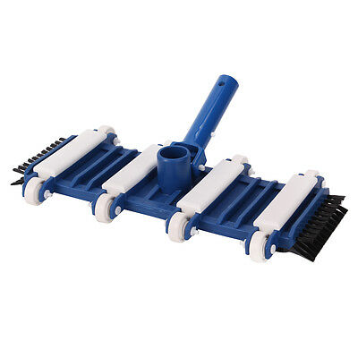 Swimming Pool Spa Flex Side Weighted Vacuum Head With Brush Cleaning Hydro Tools
