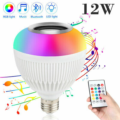 2Pcs RGB LED Light Bulb 16 Colors Changing Magic Lamp 5W E27 + IR Remote Control