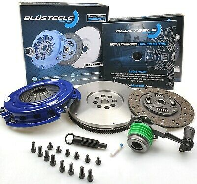 Blusteele HEAVY DUTY clutch kit & SMF FLYWHEEL COMMODORE VE V6 SV6 H7 ALLOYTECH
