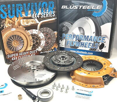 Blusteele HEAVY DUTY clutch kit & FLYWHEEL for NISSAN PATROL GU Y61 2.8L RD28ETi