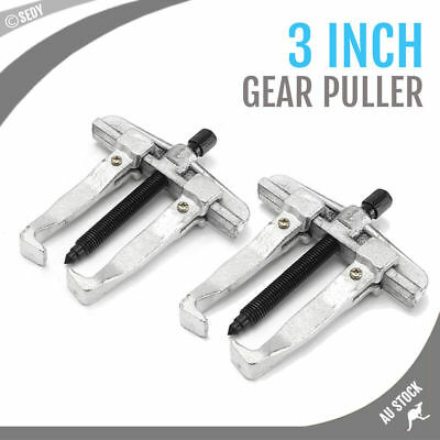 "3"" Gear Puller Two Jaw 2 Arm Gear Puller 60x70mm Bearing Disassemble Tool NEW"