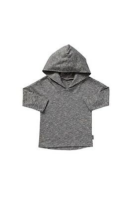 Bonds Baby Black/white Tee Top With Hoodie