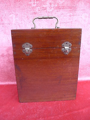 beautiful, antique Wooden box__Casket__with equipment__Wooden box with Closures