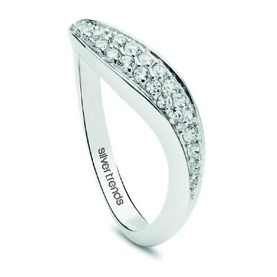 Women's Ring with stones Sterling Silver 925 Silver