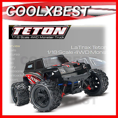 NEW TRAXXAS LATRAX TETON 1/18 4WD RC MONSTER TRUCK ALL WEATHER 2.4Ghz RTR