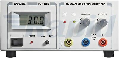 Voltcraft PS-1302 D 60W Single Output Variable DC Bench Power Supply