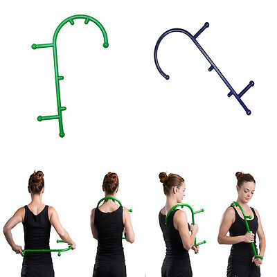 Trigger Point Self Massage Stick Therapy Tool Cane Massager Body Muscle Relief