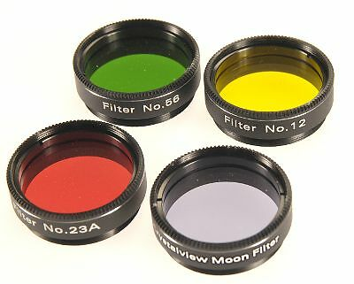 Skywatcher Lunar and Planetary Filter Set 1.25 inch for Telescope
