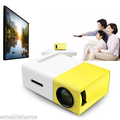 YG - 300 LCD Projector 400 - 600LM 320 x 240 Pixels Home Media Player
