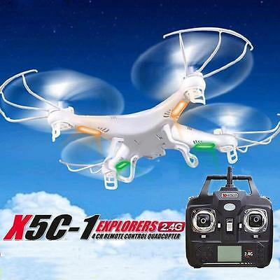 HOT SYMA X5C-1 4CH 6-Axis Gyro RC Quadcopter Drone UFO UAV RTF + Transmitter UK
