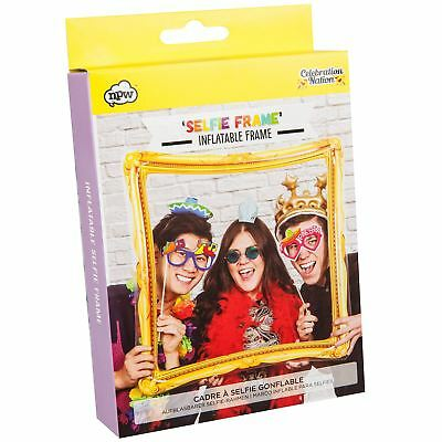 Inflatable Selfie Frame Fun Blow Up Party Photo Photography Prop Gift