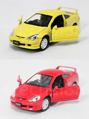 Welly 1:34-1:39 Die Cast Honda Integra Type R Car Yellow / Red Model ...