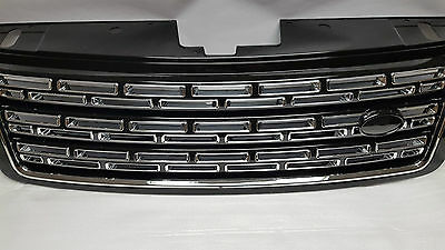 Range Rover Vogue L405 2013+ SV Autobiography Grill and Vent set 5 parts Black