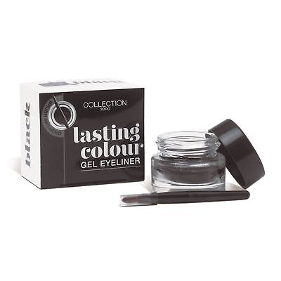 Lasting Colour Line Gel Eyeliner Black by Collection 2000 Cosmetics