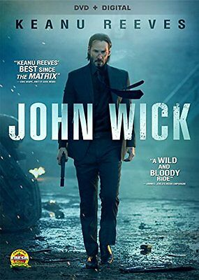John Wick Dvd - Single Disc Edition - New Unopened - Keanu Reeves