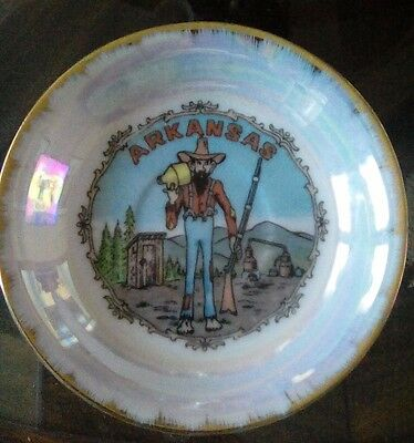 Vintage Souvenir Bowl~Arkansas