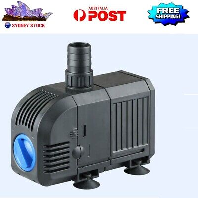 25W 1500L/H Submersible  Air Circulation Water Filter Pump for Aquarium AU STOCK