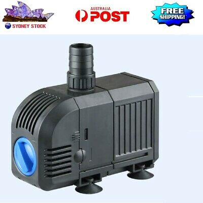 AU STOCK Submersible Air Circulation Water Filter Pump for Aquarium 25W 1500L/H
