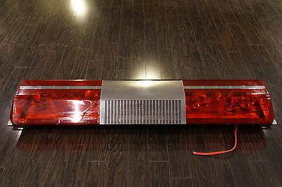 "D456 Retired Firetruck CODE 3 Force 4 XL Red Light Bar 56 "" Mounting brackets in"