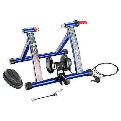 NEW PRO MAX INDOOR BICYCLE TRAINER ROLLERS Magnetic Stand Cycling Training Home