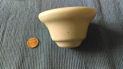 Old Antique Original Victorian Porcelain Faucet Tap Escutcheon Base
